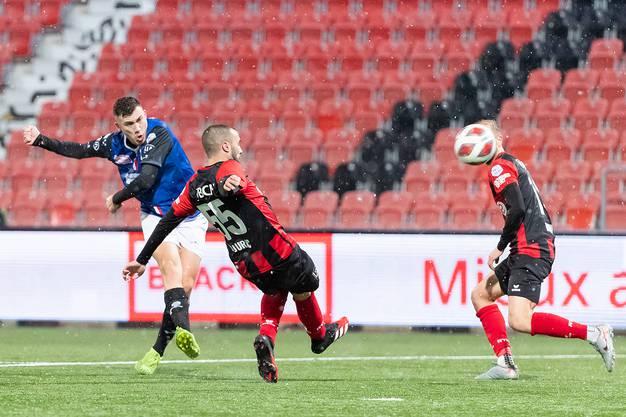 Stojilkovic verbucht seinen dritten Treffer in dieser Saison.