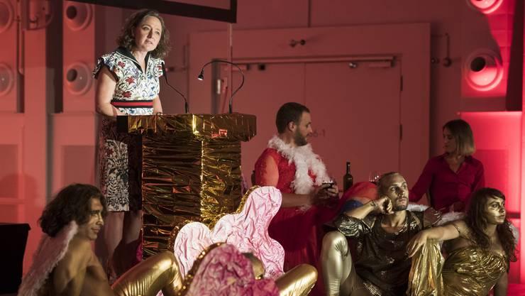Annette Schindler an der Eröffnungsfeier des 16. Fantoche in der Halle 37: «Es macht von Jahr zu Jahr mehr Spass.»