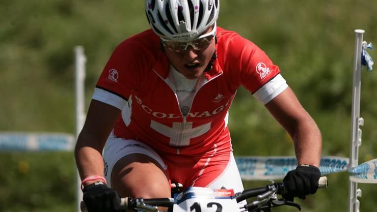 Mit der Schweizer Staffel gewann Nathalie Schneitter WM-Silber.