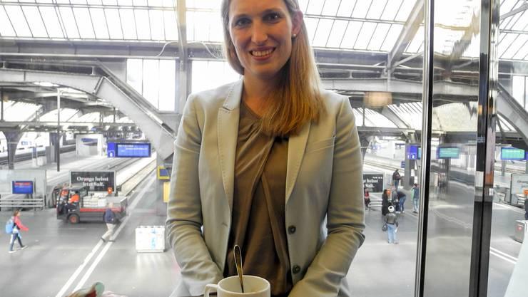 Die Balsthalerin Nina Spielmann (32) berät KMU in der ganzen Welt.frb