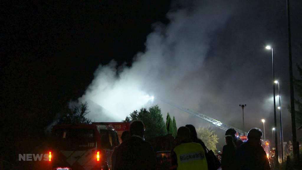 Bauernhaus in Steffisburg komplett niedergebrannt: So haben die Bewohner die Brandnacht erlebt