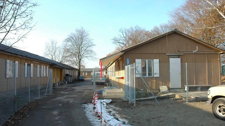 Die Bauten auf dem Juch-Areal wurden als Asylunterkünfte genutzt.