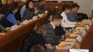 Es lief zum Schluss nicht mehr alles so wie anfänglich geplant im Jugendparlament: In der konstituierenden Sitzung im September 2009 war man sich noch einig. Daniel Haller