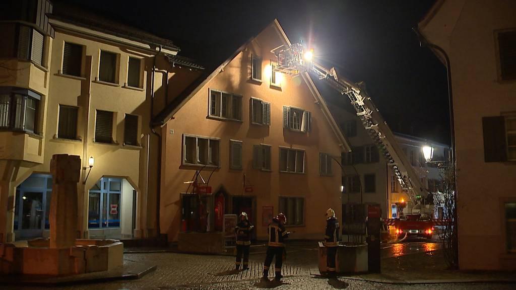 Bischofszell: Wäschetrockner in Brand geraten