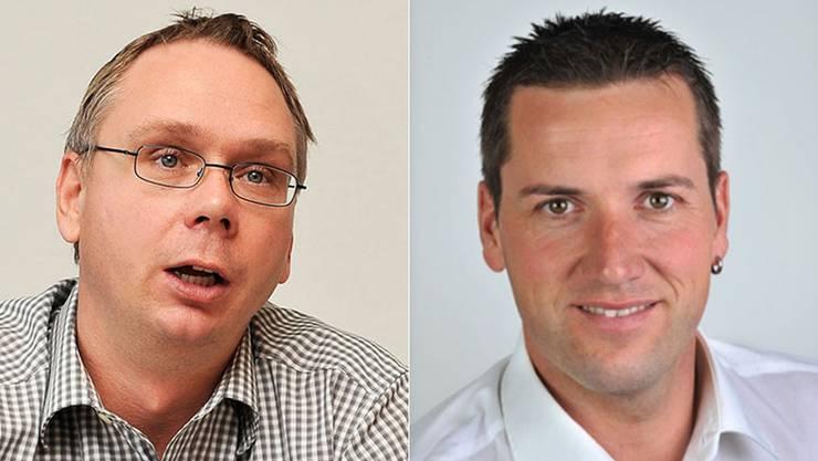 Nehmen jegliche Verantwortung auf sich: Markus Dietschi und Martin Flury