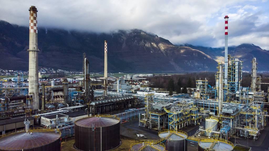 Die Raffinerie Collombey ist endgültig Geschichte