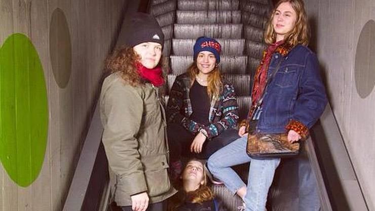 Neues Gebell, neues Zeug: Die junge Band Dog Daughterz rockt am 1.-Mai-Fest die Schützi-Bühne.