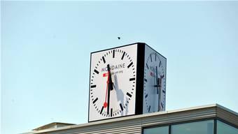 Uhrenfirma Mondaine streitet mit Migros um Markenrechte.