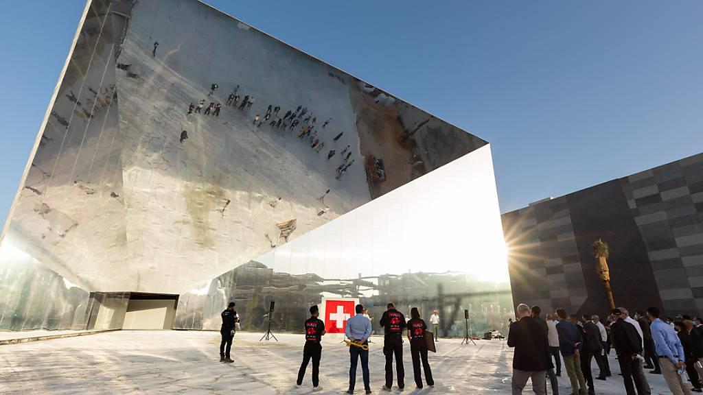 Schweiz rollt an Expo in Dubai roten Teppich aus