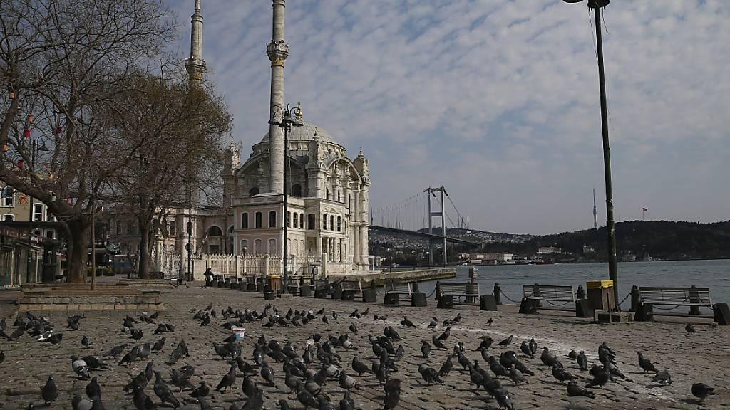 Die Inflation in der Türkei steigt immer weiter: Blick auf den Bosporus (Archivbild).