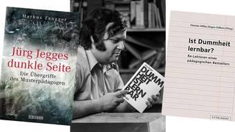 Jürg Jegge, der «Lehrer der Nation», mit seinem Bestseller im Jahr 1977.