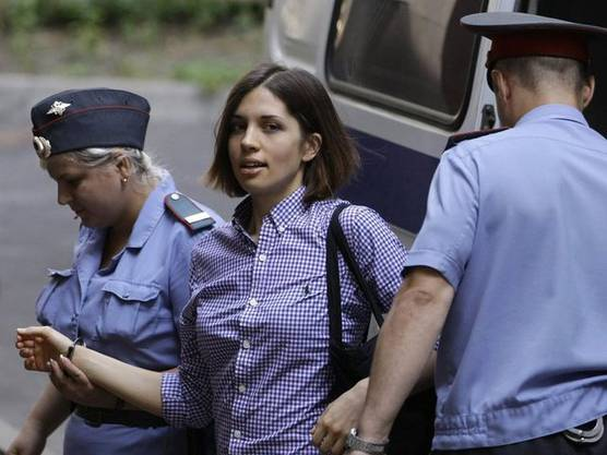 Nadezhda Tolokonnikova...