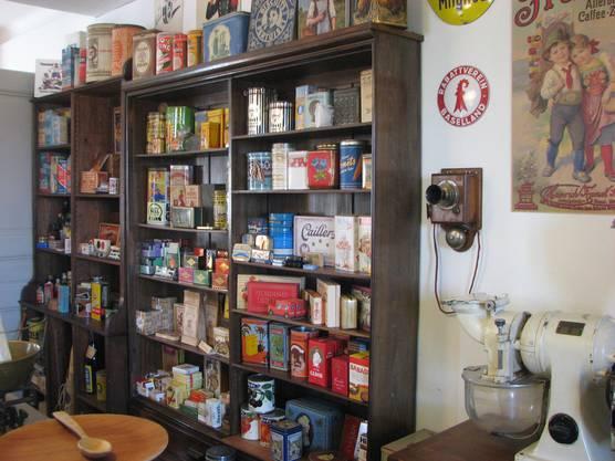 Verkäuferladen in Grossformat