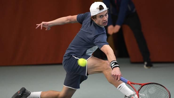 Er gewinnt die vierte Ausgabe des Tennis Pro-Open Aargau in Oberentfelden.