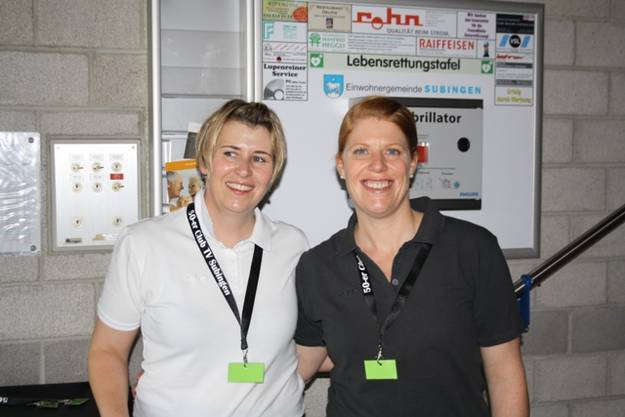 Karin Bütikofer und Regula Stampfli, Verantwortliche 50erClub