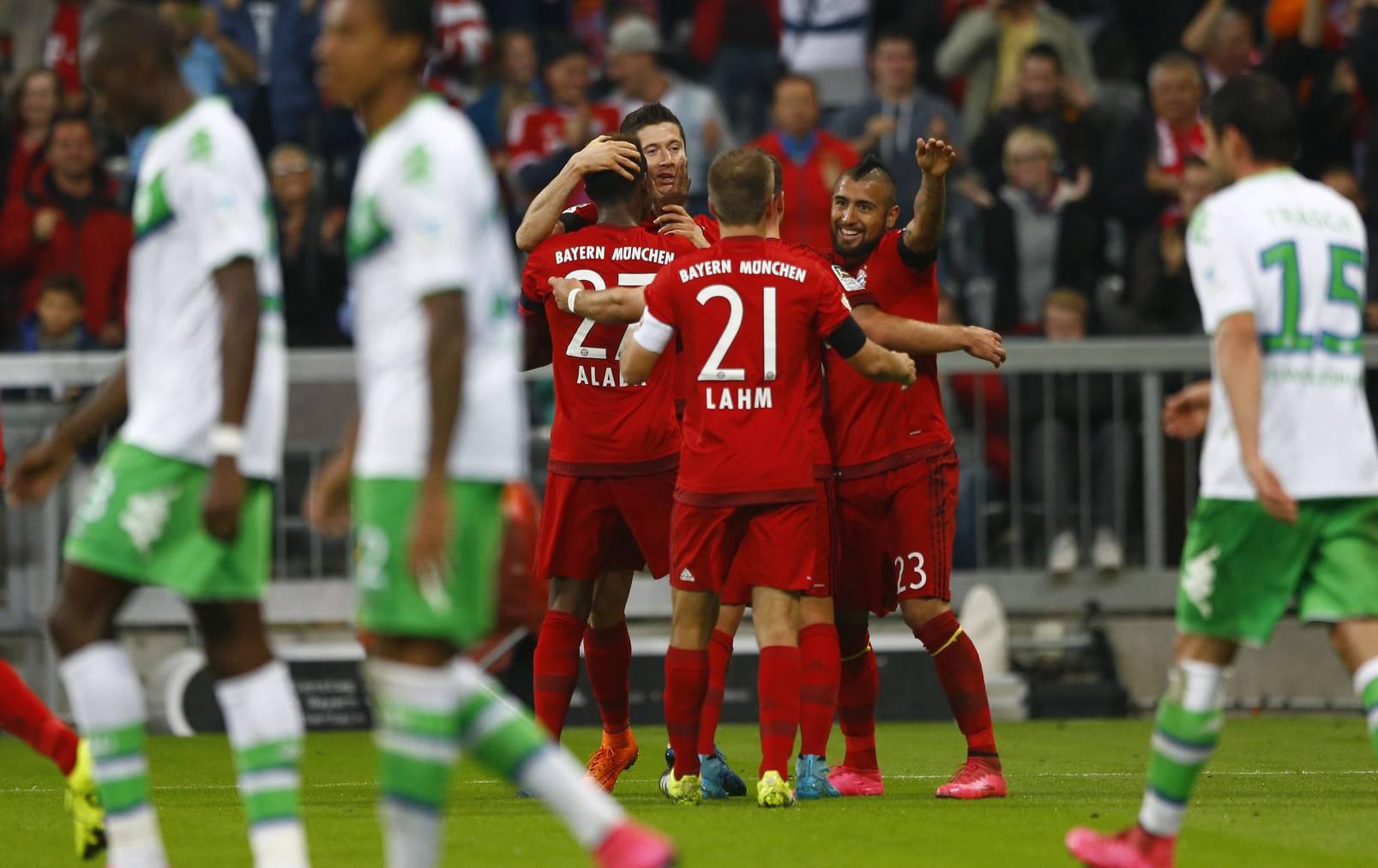5 Tore Lewandowski