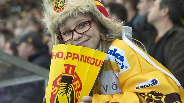 Die Langnauer Fans freuen sich auf ein Derby gegen den SC Bern.