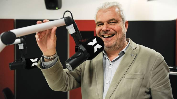 Radio-X-Mitgründer Thomas Jenny darf sich über den Kulturpreis Basel-Stadt freuen.