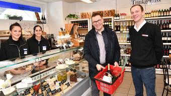 """Eröffnung Dorfladen """"Chäsegge"""" Stüsslingen"""