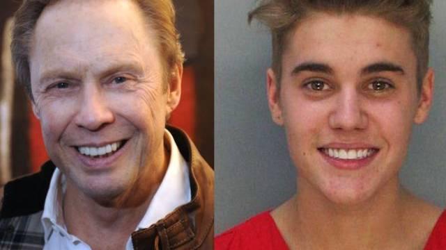 Zwei Sorten Idole: Peter Kraus (l) und Justin Bieber (Archiv)