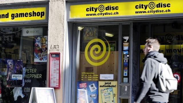Eine CityDisc-Filiale in Zürich