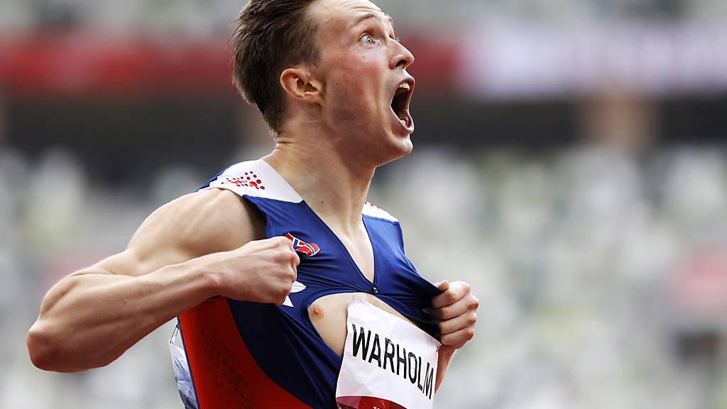 Olympia-Star Karsten Warholm startet in Lausanne