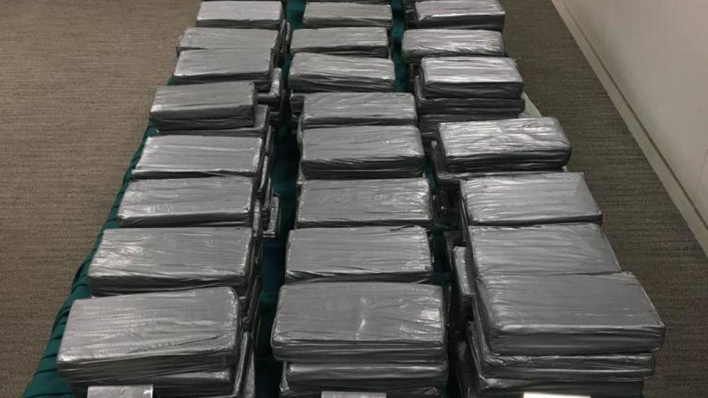 Zoll beschlagnahmt 4.5 Tonnen Kokain in Hamburger Hafen