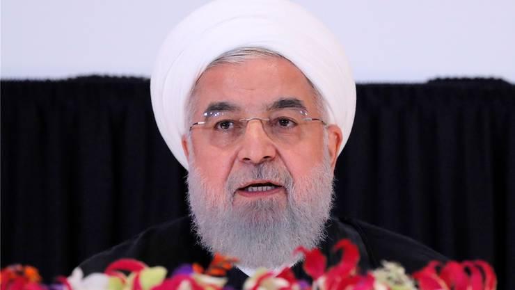 Irans Präsident Hassan Rohani. Reuters