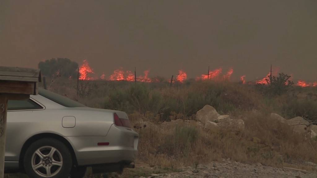 Mehrere Brände wüten im US-Bundesstaat Utah