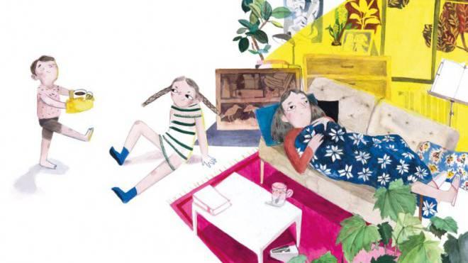 «Ist das noch Mama?», fragen sich die Kinder im Buch von Katharina Tanner. Foto: Atlantis