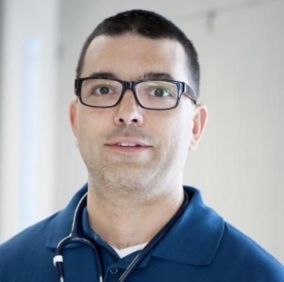 Dr. med. vet. Daniel Damur von der Tierklinik Masans. (Bild: zVg)
