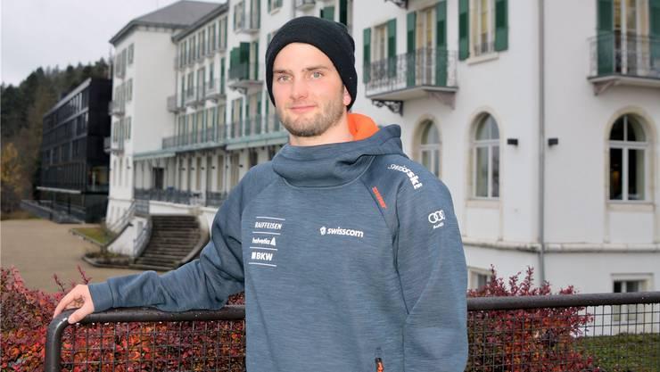 Olympia-Finalist Mischa Gasser studiert ab Herbst Betriebswirtschaft. Rainer Sommerhalder
