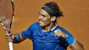 Rafael Nadal strebt in Madrid seinen vierten Triumph an