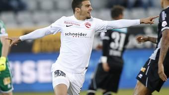 Thuns Alexander Gonzalez erzielte das 1:0 gegen Sion
