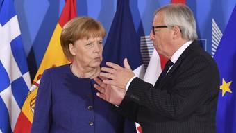 EU-Kommissionspräsident Jean-Claude Juncker hat sich zum deutschen Asylkompromiss geäussert.
