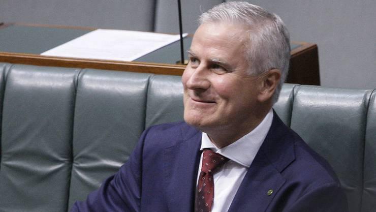 Der neue australische Vize-Regierungschef Michael McCormack am Montag im Parlament in Canberra.