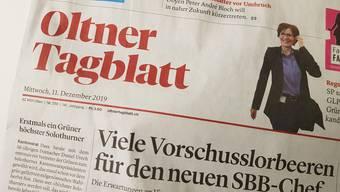 Rhaban Straumann vermisst vieles im Oltner Tagblatt.