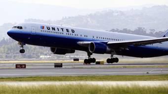 Zehn Millionen Meilen mit den Flugzeugen der United Airlines (Archiv)