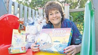 Heidi Pfändler und ihr Team beschenken an Weihnachten über 110 Kinder.