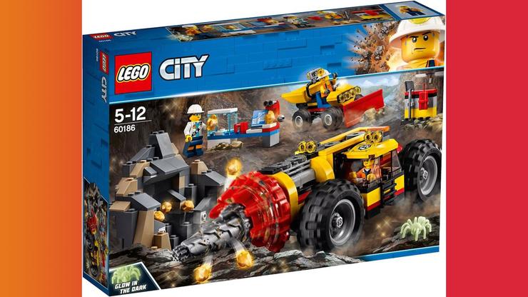 Wunsch-Nr. 48, Sheremy, 7 Jahre, LEGO Schweres Bohrgerät für den Bergbau (60186), Digitec / Galaxus, CHF 42.60