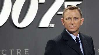 Alle wollen 007. Derzeit bieten mindestens sechs Unternehmen bei den Verleihrechten mit, darunter Amazon und Apple. (Archivbild)