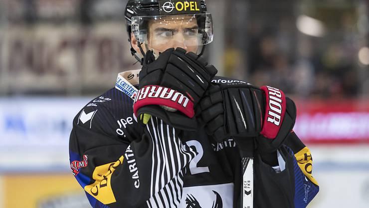 Noah Schneeberger spielt ab sofort im Trikot von Lausanne