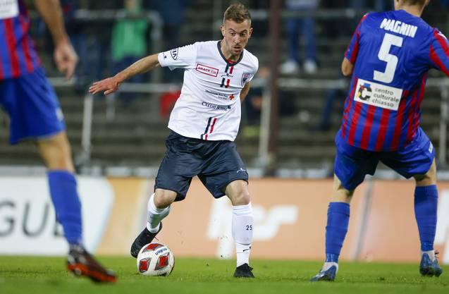Marco Aratore drängt nach seiner Rückkehr zum FC Aarau auf einen Stammplatz