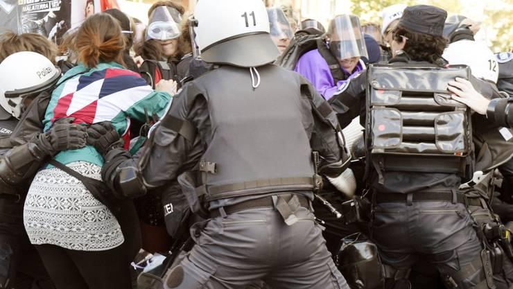 Die Demonstration der Abtreibungsgegner führte in der Vergangenheit bereits zu Gegendemonstrationen und Polizeieinsätzen. (Archiv)