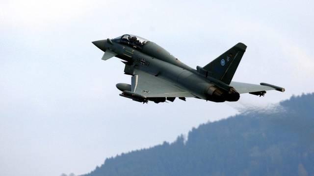 Ein Eurofighter (Archiv).