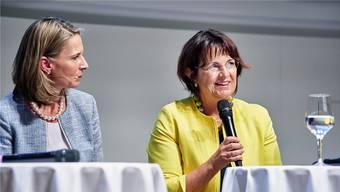 Ursula Renold, Präsidentin des Fachhochschulrates der Fachhochschule Nordwestschweiz: «Das Bildungssystem muss die Struktur der Wirtschaft abbilden.»