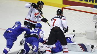 Die Slowaken unterliegen Kanada nur knapp.