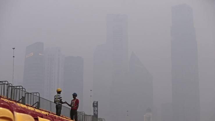 Smog in Singapur: Vorbereitungen auf das Rennen laufen - vergeblich?