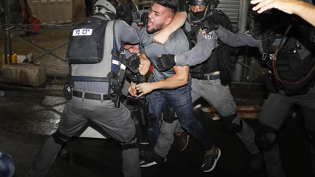 Neue Auseinandersetzungen auf dem Tempelberg in Jerusalem