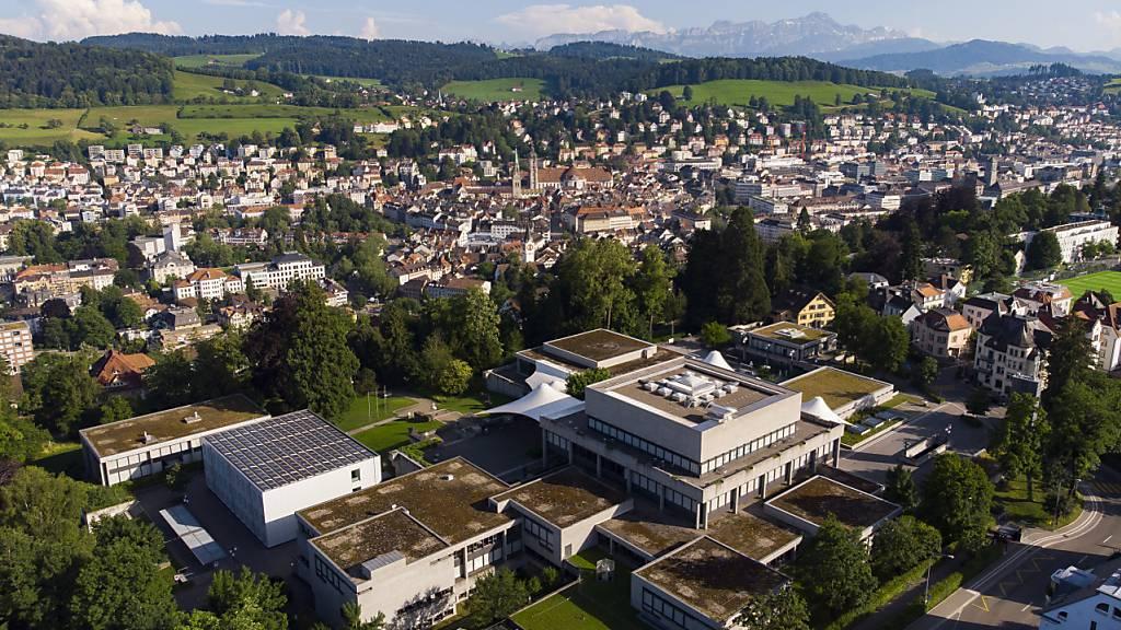 Pandemie dämpft regionale Wertschöpfung der Universität St.Gallen